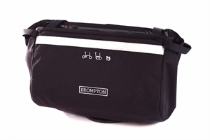 Brompton Basket Bag in Black