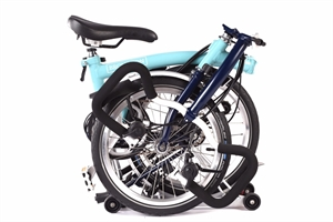 Brompton P6R Turkish Green / Tempest Blue