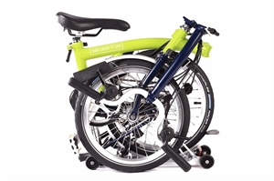 Brompton M6R Lime Green / Tempest Blue