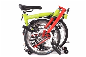 Brompton M6R Lime Green / Red