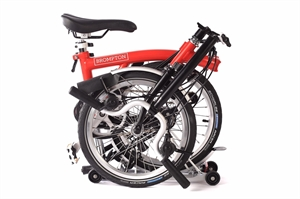 Brompton H6R Red / Black with Telescopic Seat post