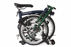 Brompton M6R Tempest Blue / Racing Green