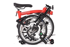Brompton M6R House Red / Black