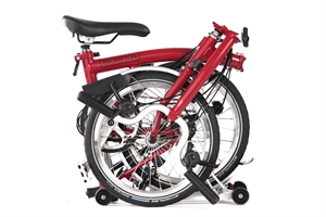 Brompton M6R  House Red / House Red