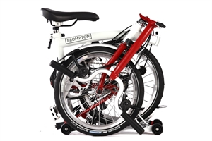 Brompton M6R Papyrus White / House Red