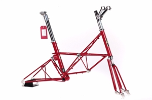 Moulton  Jubilee50 Ferrari-Red Polished Highlights