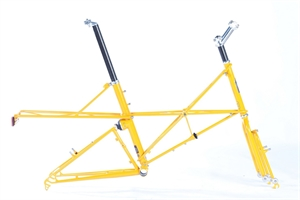 Moulton TSR V-Brake with Large  Rear Rack Yellow