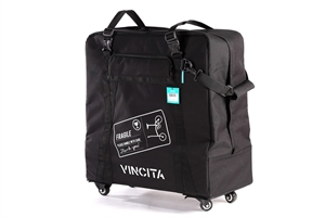 Vincita SOFT TRANSPORT BAG FOR BROMPTON BIKE WITH WHEELS B132H