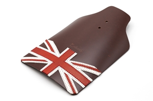 Erdeeni Leather Mudguard Flap Brown for Brompton