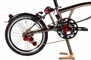 Ridea 8 speed Brompton Upgrade Kit (Not include Bike)