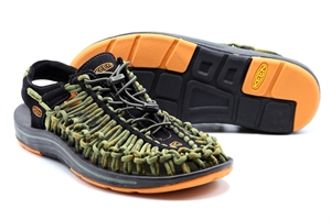 KEEN UNEEK STRIPES ORANGE OCHRE/RAYA